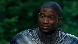actor Sinqua Walls playing Sir Lancelot
