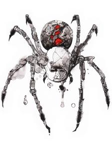 black-widow-baby-cesar-valtierra-kaleidotrope-cover